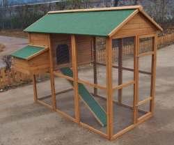 домик для наседки и цыплят